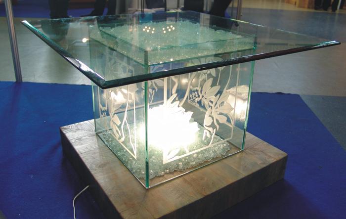 Столики из стекла своими руками